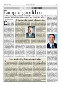 Milano Finanza - Fondo a Cedola - 24 dic 16